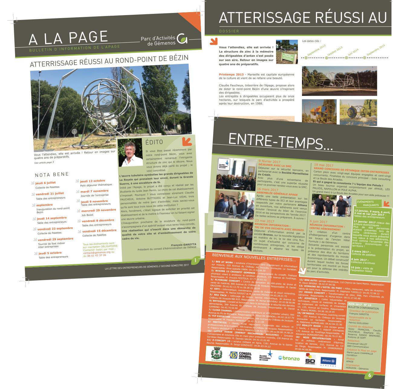 mise-en-page-magazine-brochure-marseille-gemenos-aubagne