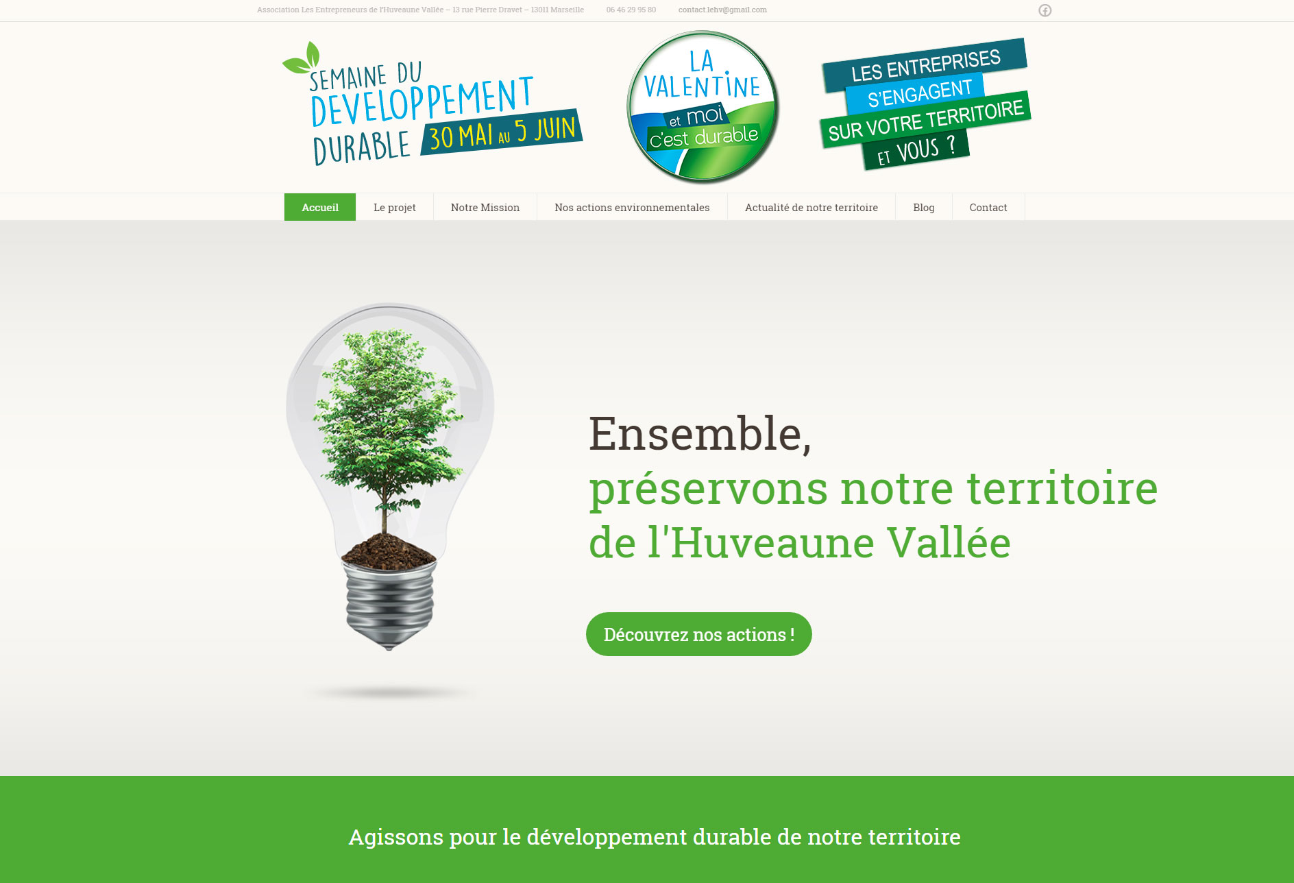 site-internet-creation-semaine-du-developpement-durable-marseille
