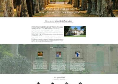 Site internet evenementiel mariage
